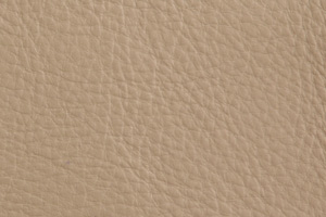 Luxury Leder Sitzsack Creme Beige