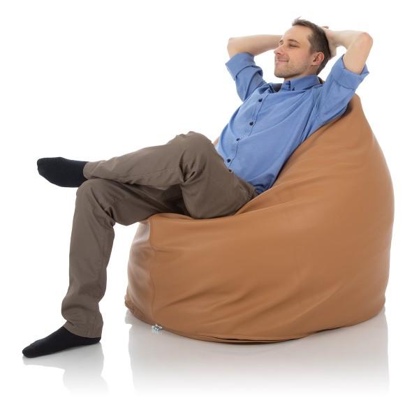 Sitzsack Relax   600 Liter   Luxury Leder