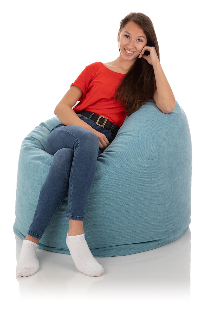 XXL-Sitzsack blau - der klassische frago Sitzsack