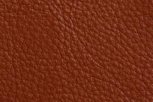 Luxury Leder Sitzsack Rost-Braun