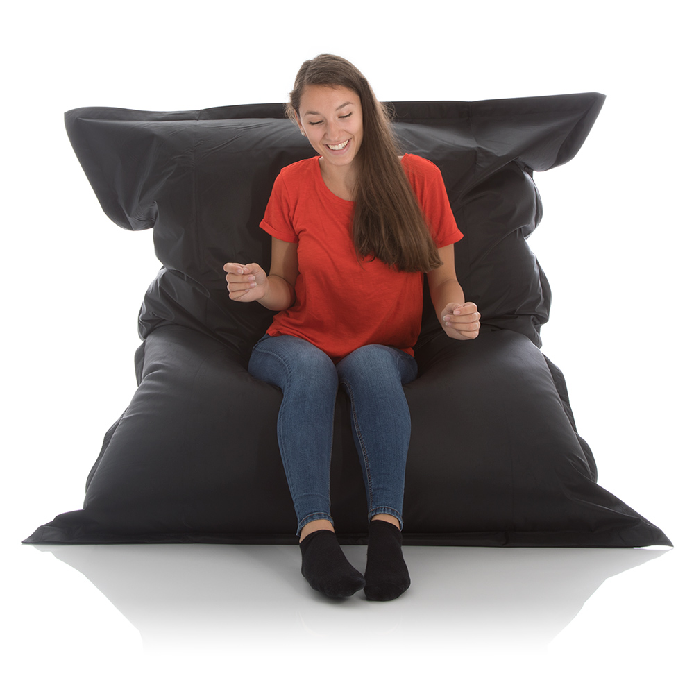 Sitzsack Sofa schwarz 140x180 cm bei frago kaufen
