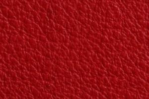 Luxury Leder Sitzsack Zinnober-Rot