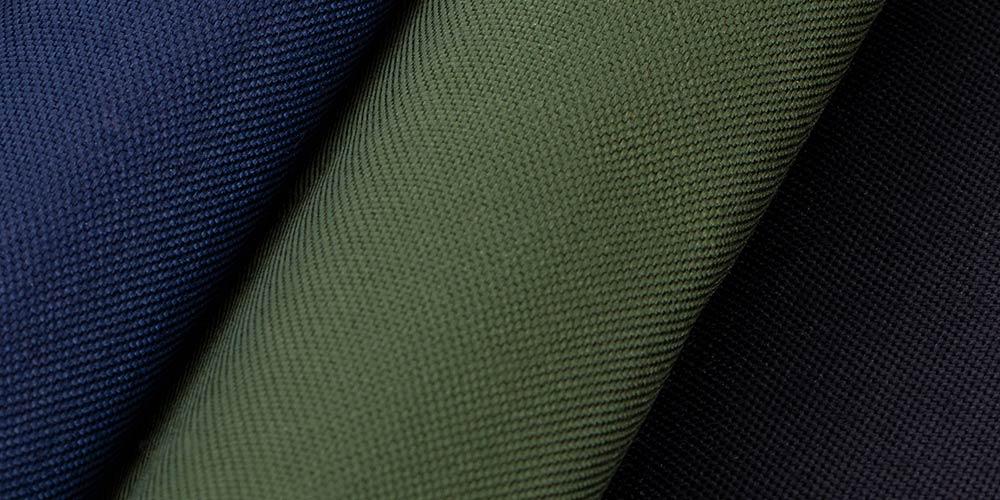 Cordura Nylon blau, grün und schwarz für XXL-Sitzsäcke im Garten und auf dem Balkon