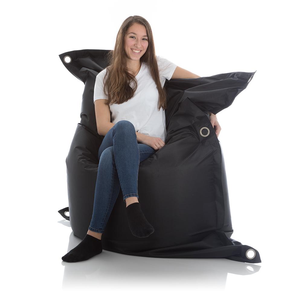 Sitzsack Sofa schwarz 140x200 cm bei frago kaufen