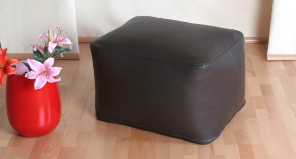Sitzquader | Ca. 64x50x40 cm | Luxury Leder