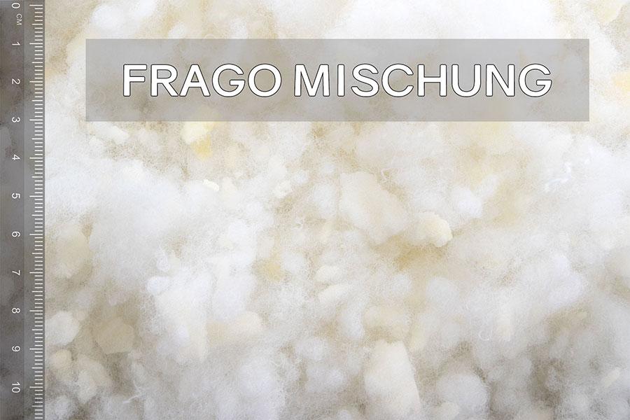 frago Mischung Füllung für Baby-Kissen und Stillkissen