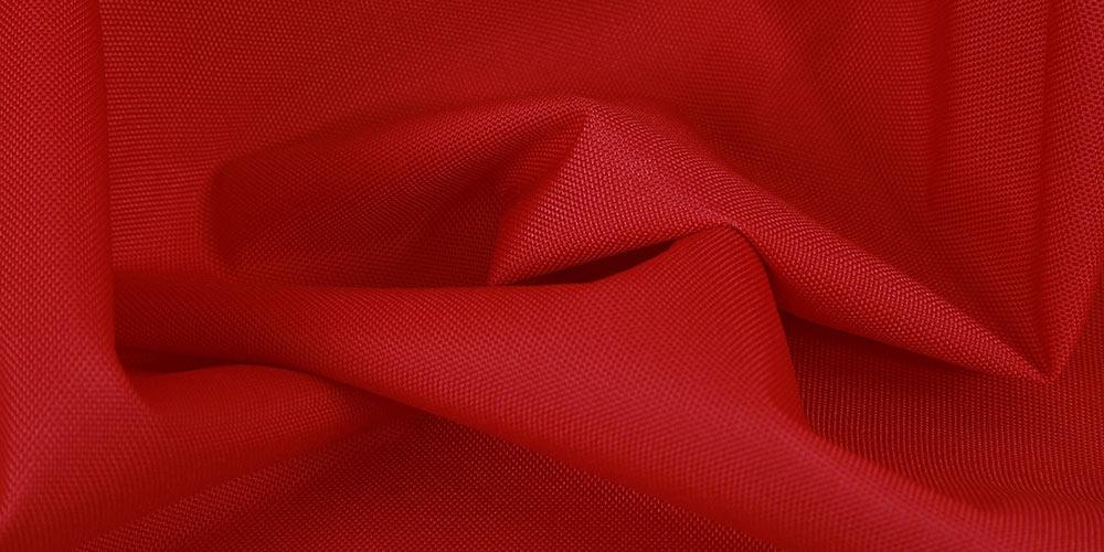 Cordura Nylon rot für XXL-Sitzsäcke im Garten und auf dem Balkon