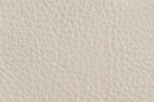 Luxury Leder Sitzsack Altweiss