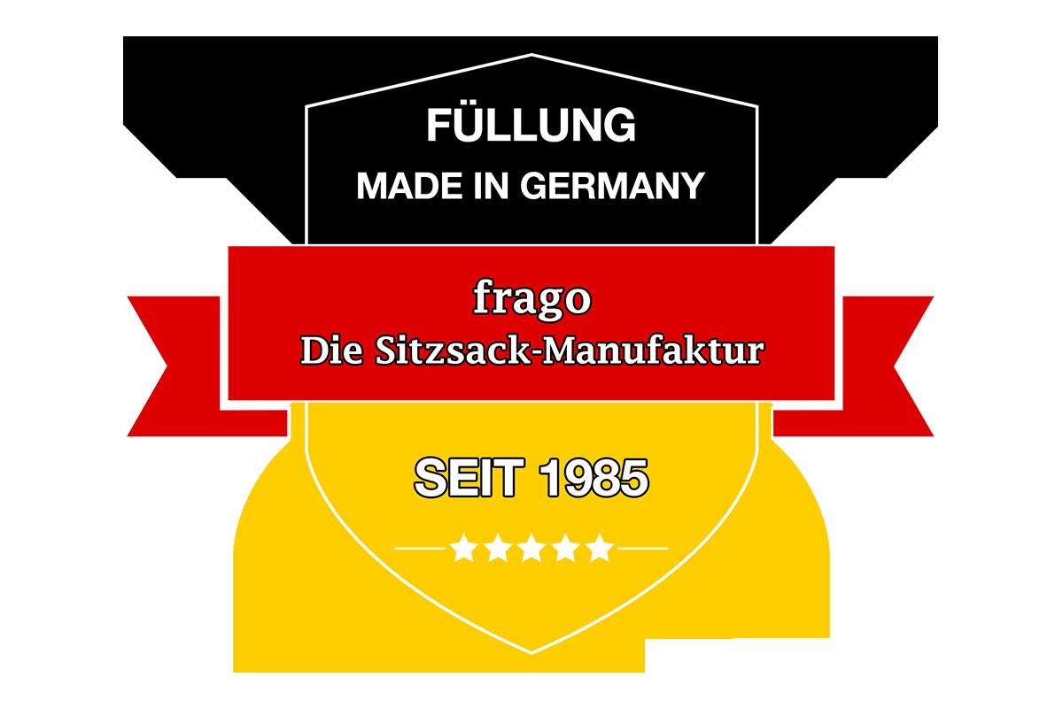 frago Sitzsaecke sind Made in Germany