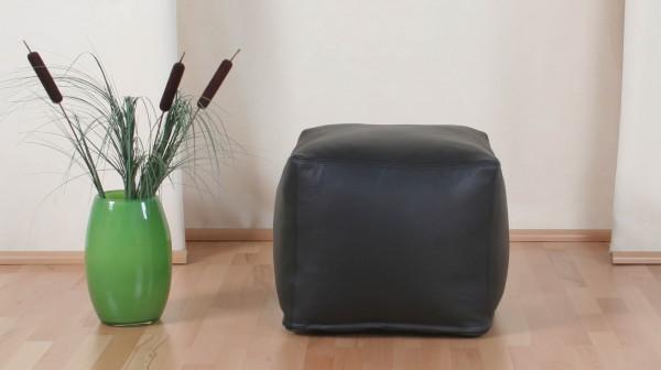 Sitzwürfel   Ca. 50x50x50 cm   Luxury Leder