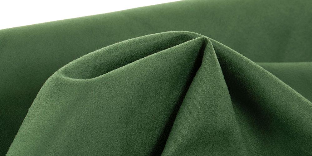 Eine Nahaufnahme einer grünen Sitzsack Außenhülle aus Premium Microfaser