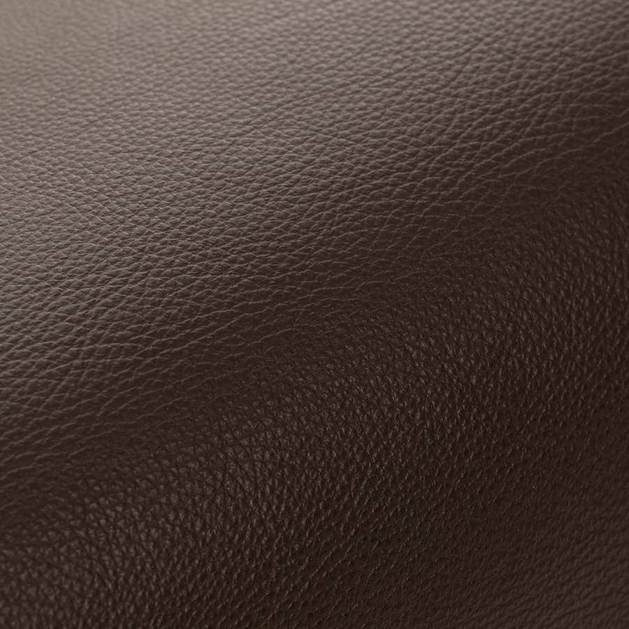 Sitzsack Stoff aus Leder vom Rind in Schoko-Braun