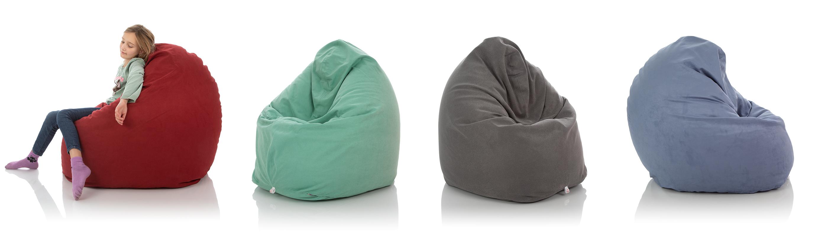 XXL Kinder-Sitzsäcke Vergleich in vielen Farben für das Kinderzimmer