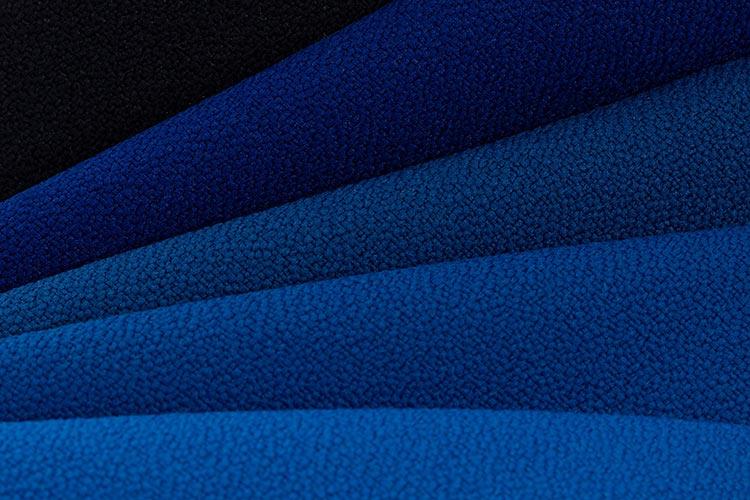 Sitzsack Stoff   B1 Microfaser Schwer Entflammbar   Schattierung in blau